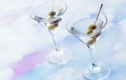 冰凉夏日酒香 酒水饮品高清摄影 Martini 鸡尾酒图片 马丁尼鸡尾酒 Martini Cocktail 冰凉夏日酒香酒水饮品高清摄影 摄影壁纸