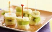 餐桌上的水果水果甜点摄影一 摄影壁纸