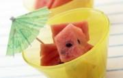 超漂亮水果甜品 西瓜甜点图片 餐桌上的水果水果甜点摄影一 摄影壁纸