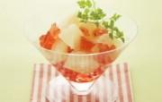 超漂亮水果甜点 水果杯图片 餐桌上的水果水果甜点摄影一 摄影壁纸