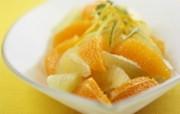水果甜点 橘子甜品壁纸 餐桌上的水果水果甜点摄影一 摄影壁纸