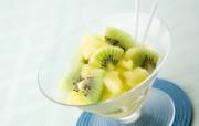 超漂亮水果甜品 水果杯图片 餐桌上的水果水果甜点摄影一 摄影壁纸