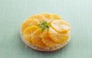 超漂亮水果甜品 橘子片图片 餐桌上的水果水果甜点摄影一 摄影壁纸