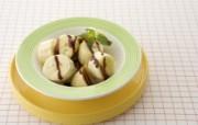 水果甜品图片 香蕉盘 餐桌上的水果水果甜点摄影一 摄影壁纸