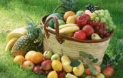 丰收季节一水果特写 摄影壁纸