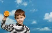 可爱小孩大头照壁纸 国外儿童摄影壁纸第二辑 摄影壁纸