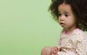 可爱小卷毛 外国儿童摄影图片 国外儿童摄影壁纸第二辑 摄影壁纸