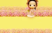 韩国ddung娃娃实物版糖糖 摄影壁纸