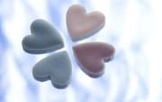壁纸 浪漫心形糖果图片壁纸 情人节心形小物品摄影 摄影壁纸