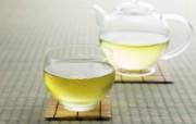 新茶绿茶图片 日本茶道摄影 日本茶道文化与健康饮品 摄影壁纸