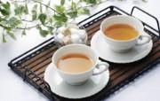 日本新茶图片 日本茶道摄影 日本茶道文化与健康饮品 摄影壁纸