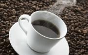 纯黑咖啡图片 品味咖啡摄影 日本茶道文化与健康饮品 摄影壁纸