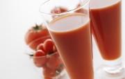 西红柿番茄汁图片 健康饮品摄影 日本茶道文化与健康饮品 摄影壁纸