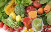 新鲜蔬果汁图片 健康饮品摄影 日本茶道文化与健康饮品 摄影壁纸