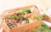 日本美食摄影寿司茶点 摄影壁纸