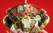 日本民俗文化欣赏新年祈福驱邪物品二 摄影壁纸