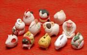 十二生肖陶瓷玩偶 12 chinese zodiac 摄影壁纸