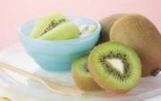 餐桌 33P 猕猴桃 水果甜点摄影图片 水果甜点摄影二 摄影壁纸