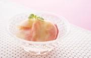 餐桌 33P 桃子 水果甜点摄影图片 水果甜点摄影二 摄影壁纸
