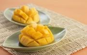 餐桌 33P 芒果图片 水果甜点摄影 水果甜点摄影二 摄影壁纸