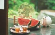 夏日水果美味西瓜 摄影壁纸