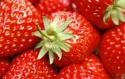 高清晰草莓素材图片图片壁纸 新鲜草莓 摄影壁纸