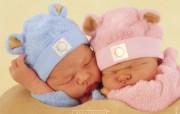 婴儿摄影家Anne Geddes作品可爱婴儿二 摄影壁纸