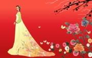 朝鲜族女性 2 16 朝鲜族女性 矢量壁纸
