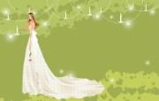 婚礼新娘 2 19 婚礼新娘 矢量壁纸