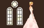 婚礼新娘 2 15 婚礼新娘 矢量壁纸