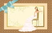 婚礼新娘 2 11 婚礼新娘 矢量壁纸