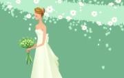 婚礼新娘 2 10 婚礼新娘 矢量壁纸