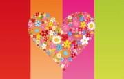 矢量爱的心形 4 15 矢量爱的心形 矢量壁纸