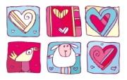 矢量爱的心形 4 7 矢量爱的心形 矢量壁纸