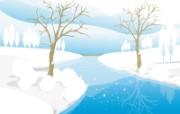 矢量冬天 1 12 矢量冬天 矢量壁纸