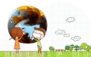拯救地球 1 20 拯救地球 矢量壁纸