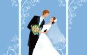 婚礼新娘 1 16 婚礼新娘 矢量壁纸