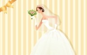 婚礼新娘 1 10 婚礼新娘 矢量壁纸