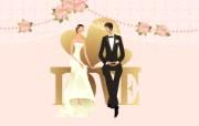 婚礼新娘 1 7 婚礼新娘 矢量壁纸