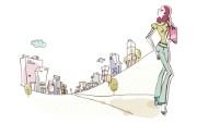 时尚购物女性 3 7 时尚购物女性 矢量壁纸