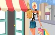 时尚购物女性 2 16 时尚购物女性 矢量壁纸