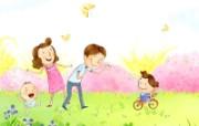 幸福家庭 2 13 幸福家庭 矢量壁纸