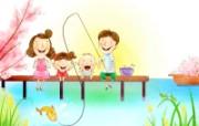 幸福家庭 2 6 幸福家庭 矢量壁纸