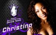 NBA Christina图片壁纸 200809赛季萨克拉门托国王队啦啦队壁纸 体育壁纸