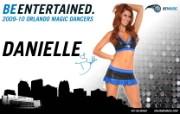 2009 10赛季奥兰多魔术啦啦队壁纸 Danielle图片壁纸 200910赛季奥兰多魔术啦啦队壁纸 体育壁纸