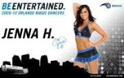 2009 10赛季奥兰多魔术啦啦队壁纸 Jenna H图片壁纸 200910赛季奥兰多魔术啦啦队壁纸 体育壁纸