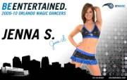 2009 10赛季奥兰多魔术啦啦队壁纸 Jenna S图片壁纸 200910赛季奥兰多魔术啦啦队壁纸 体育壁纸