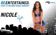 2009 10赛季奥兰多魔术啦啦队壁纸 Nicole图片壁纸 200910赛季奥兰多魔术啦啦队壁纸 体育壁纸