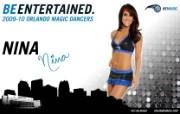 2009 10赛季奥兰多魔术啦啦队壁纸 Nina图片壁纸 200910赛季奥兰多魔术啦啦队壁纸 体育壁纸