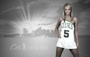 Ashley M桌面壁纸 200910赛季波士顿凯尔特人啦啦队壁纸 体育壁纸